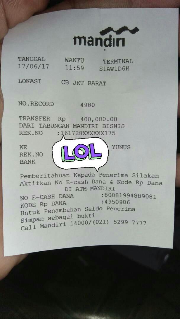 fakereceipt